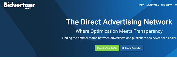 bidvertiser mạng quảng cáo thay thế Google Adsense