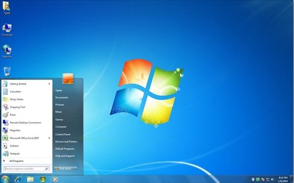 Giao diện Windows
